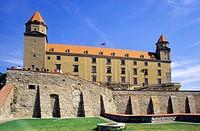 The Bratislava´s castle before reconstruction