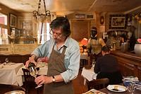 France, Correze, Brive la Gaillarde, restaurant, Chez Francis, Francis Tessandier