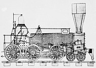 The Chesapeake, designed by Septimus Norris and built in 1847, was the first practical engine with a 4_6_0 wheel arrangement, 10_wheeler. The locomoti...