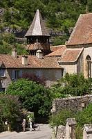 France, Lot, Espagnac Sainte Eulalie, Notre Dame de Val Paradis