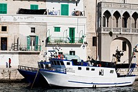 Italy, Puglia, Bari province, Monopoli, port