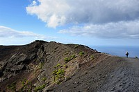 San Antonio volcano near Fuencaliente, La Palma, Canary Islands, Spain, Europe, PublicGround