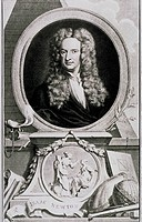 Sir Isaac Newton 1642_1727 was an English physicist, mathematician, astronomer, natural philosopher, alchemist, and theologian. His monograph Philosop...
