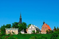 View of old city in Sandomierz. Poland