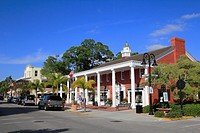 famous 3 rd street in naples florida usa