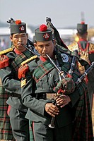 Assam Rifles Performing At Namdapha Eco Cultural Festival, Miao, Arunachal Pradesh, India