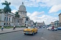 The Capitolio Building. Havana. Cuba.