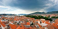 Panorama of Trogir, Croatia