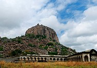 a majestic fort in Gingee tamilnadu India