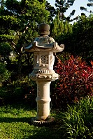 Japanese stone garden decoration light