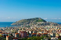 Alanya city from hills