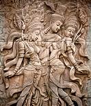 Thai style angel statue in Thailand