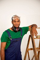 A man preparing to do a home improvement project