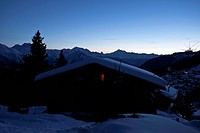A chalet in the Swiss Alps (thumbnail)