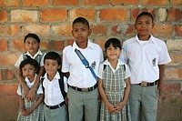 primary school children in Colombia