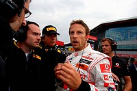 Race, Jenson Button, British Grand Prix, Silverstone, England