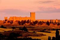Penaranda de Duero Castle, Burgos Province, Castile and Leon, Spain