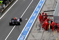 Sebastian Vettel, Formula One, German Grand Prix, Nurburgring, Germany