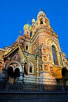 Church of the Bleeding Savior  St  Petersburg  Russia.