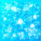 Christmas Background with snowflakes, element for design, vector illustration