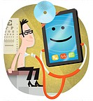 idoctor.Use of personal technology in medical practices.