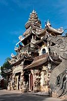 Dragon Pagoda, Dalat, Da Lat, Vietnam, Southeast Asia