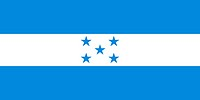 Illustration of the national flag of Honduras.