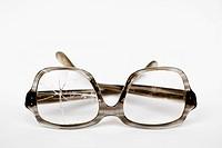 Old broken glasses