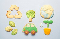 Cookies in different shapes