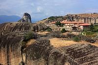 The Monastery of the Holy Trinity, Meteora, Greece