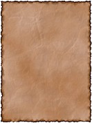 illustration of the old brown paper with burnt on the edges