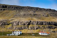 Abandoned farms, Austurland, eastern Iceland, Iceland, Europe