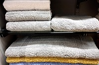 Colorful Bath/Shower Mats in a Retail Store Display