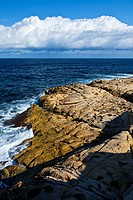 Dahlet Qorrot Bay, Gozo Island, Malta, Europe.