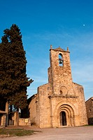 Romanesque church of Santa Maria, Porqueres, Pla de l´Estany, Girona, Catalonia, Spain
