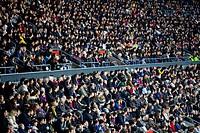 Camp Nou, stadium of FC Barcelona, Barcelona, Catalonia, Spain