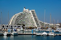 Great Pyramid La Grande-Motte Holiday Resort Port and Yacht Harbour Hérault France