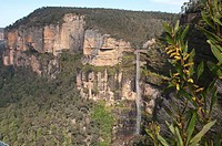 Bridal veil falls, Blue mountains National Park, Australia