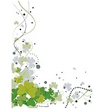St Patrick Background _ Vector