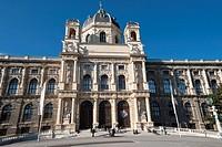 Naturhistorisches Museum, Natural History Museum, Vienna, Austria, Europe, PublicGround