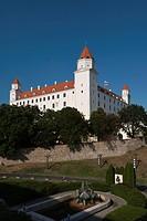 Bratislava Castle, Bratislava, Slovakia, Europe, PublicGround