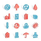 Ecology and nature icons _vector icon set