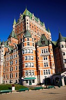 Chateau Frontenac _ The most famous landmark in Quebec City.