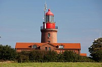 Lighthouse BUK, Bastorf, Landkreis Bad Doberan district, Baltic Sea, Mecklenburg-Western Pomerania, Germany, Europe, PublicGround