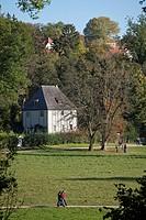 Goethe's Garden House, Park an der Ilm, Weimar, Thuringia, Germany, Europe, PublicGround