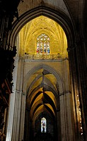Seville Cathedral, interior, Seville, Andalusia, Spain, Europe