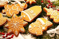 Gingerbread figures, Christmas cookies