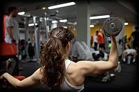 Fitness center.