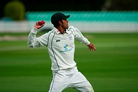 26 04 2012 Worcester, England Worcester v Nottinghamshire County Cricket Aneesh Kapil fielding for Worcester during the LV County Championship match p...