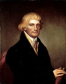 Portrait of Thomas Jefferson, circa 1820. Artist unidentified